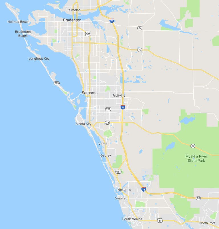 map of south western florida