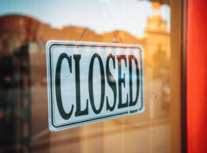 closed during COVID